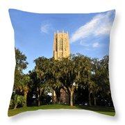 Bok Tower Sanctuary Throw Pillow