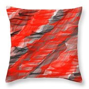 Bold And Dramatic Throw Pillow
