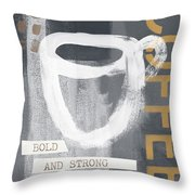 Bold And Strong- Art By Linda Woods Throw Pillow