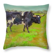 Bold Beauty Throw Pillow