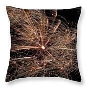 Bold Burst #0711 Throw Pillow