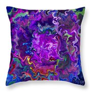 Bold Contrasts Throw Pillow