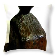 Bold Head Throw Pillow