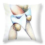 Bolder Throw Pillow