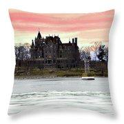 Boldt Castle 12  Throw Pillow