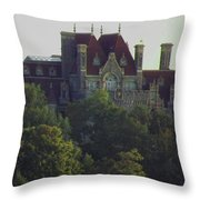Boldt Castle 22 Throw Pillow