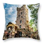 Boldt Castle Playhouse Throw Pillow