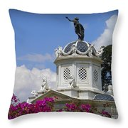 Bolivian Cupola Throw Pillow