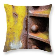 Bolted Iron Throw Pillow