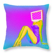 Bolts And Bathing Suits Throw Pillow