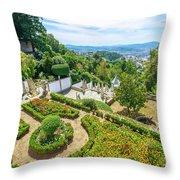 Bom Jesus Do Monte Panorama Throw Pillow