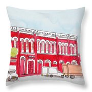 Bombay Samachar  Throw Pillow