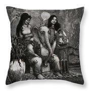 Bombay Throw Pillow