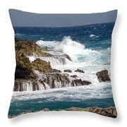 Bonaire North Shore 1 Throw Pillow