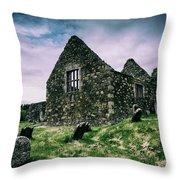 Bonamargy Friary Throw Pillow