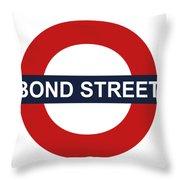 Bond Street Throw Pillow