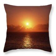 Bondi Beach Sunrise Throw Pillow