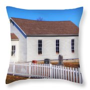 Bonds Chapel 1883 Throw Pillow