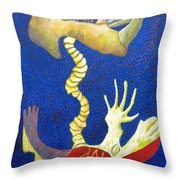 Bone Rocket Tilt Throw Pillow