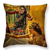Bones In Hot Pursuit Throw Pillow