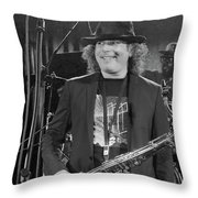 Boney James Smiling At Hub City '17 Throw Pillow