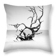 Boneyard Beach X Throw Pillow