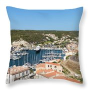 Bonifacio Harbor Throw Pillow