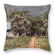 Bonnard: Balcony, 1909-10 Throw Pillow