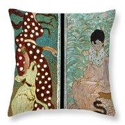 Bonnard: Women, 1891 Throw Pillow