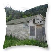 Bonne Bay2 Throw Pillow
