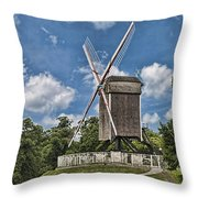 Bonne Chiere Windmill Throw Pillow