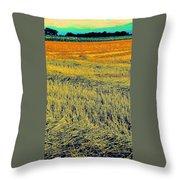 Bonneuil Harvest Throw Pillow