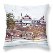 Bonnie Castle  Throw Pillow