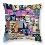 Bonnie Raitt On Frets Plus Surprises Throw Pillow