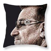 Bono Throw Pillow