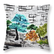 Bonsai And Penjing Museum 3 201733 Throw Pillow
