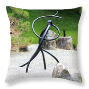 Bonsai Roots 2 Throw Pillow