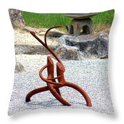 Bonsai Roots Throw Pillow