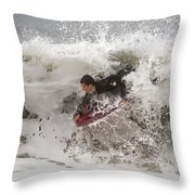 Boogie-bomb Explosion Throw Pillow