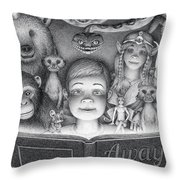 Book Club Throw Pillow