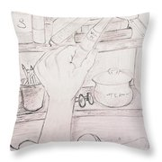 Book In Hand  Throw Pillow