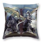 Book Of Fantasies Throw Pillow
