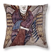 Book Of Kells: St. Matthew Throw Pillow