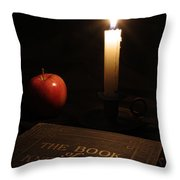 Book Of Knowledge  Throw Pillow