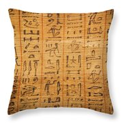 Book Of The Dead Throw Pillow