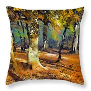 Booker Woods Throw Pillow