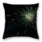 Boom 1 Throw Pillow