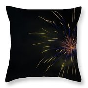 Boom 4 Throw Pillow