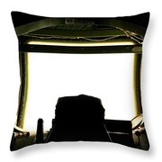 Boom Seat Throw Pillow