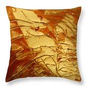 Boomerang - Tile Throw Pillow